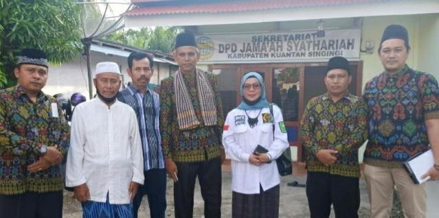 DPD RI Kunjungi Kantor Sekretariat Thariqah Syattariyah Kuansing