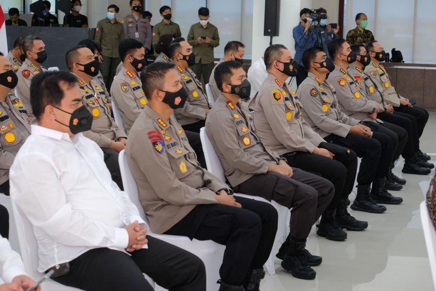 Kapolda Riau Canangkan Pembangunan Zona Integritas 17 Satker Polda menuju WBK dan WBBM