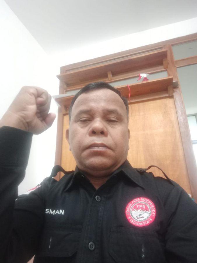 Ketua FPII Korwil Kuansing, Rusman:
