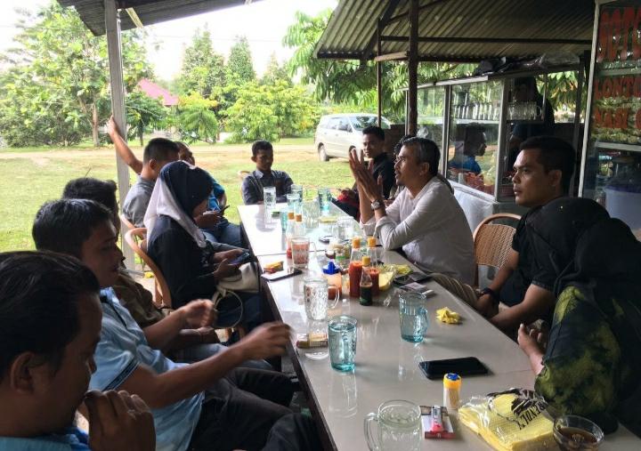 Komisi IV DPRD Provinsi Riau Ngopi Bareng Bersama IWO Kuansing