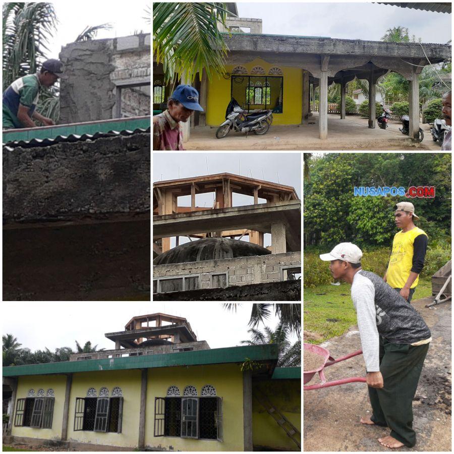 Masyarakat Desa Pulau Tengah Harapkan Bantuan Untuk Pembangunan Masjid Darul Ulum