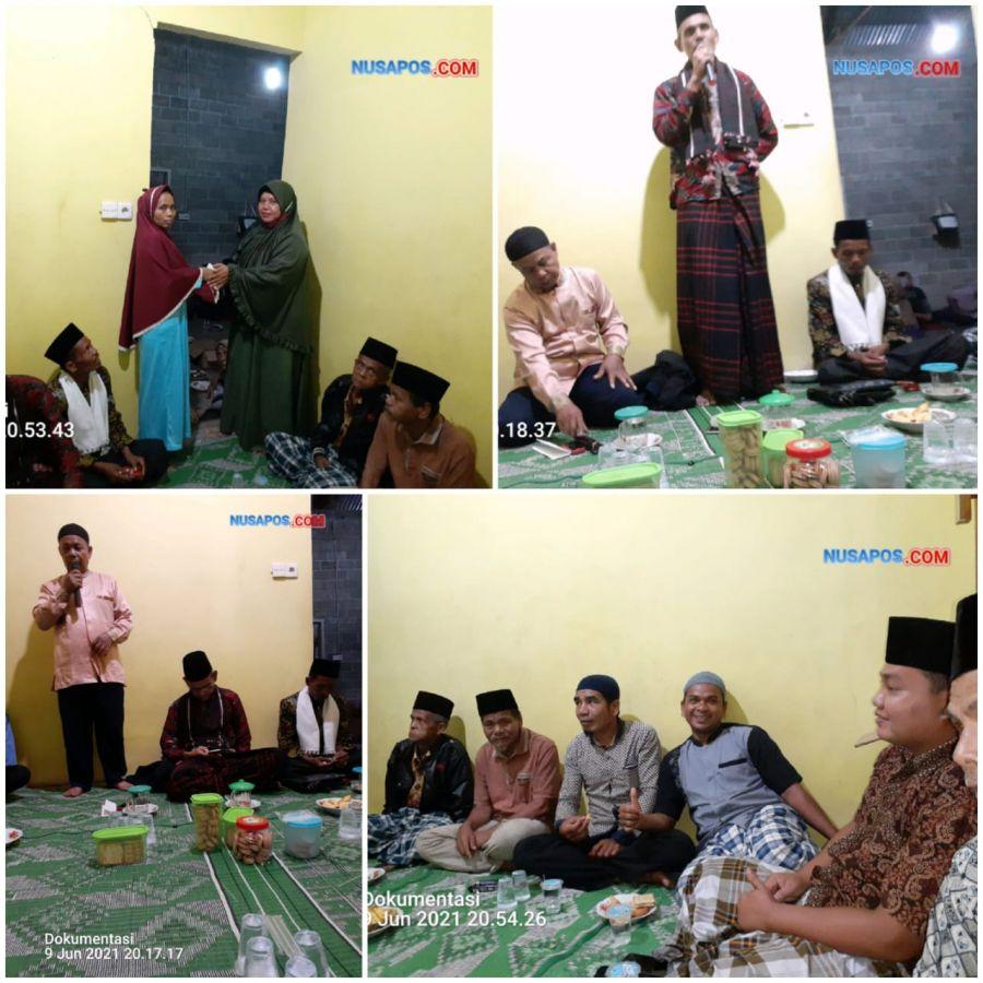 Pengurus DPD Dan DPC Serta Anggota Jama'ah Syattariyah Hadiri Takziah Di Pulau Deras