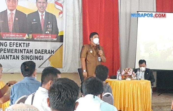 Perdana Bupati Dan Wakil Bupati Kuansing Cofee Morning Bersama Insan Pers