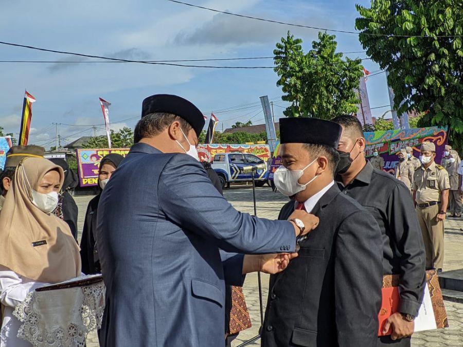 Peringati HUT Agraria Ke-6, Presiden Jokowi Beri Apresiasi Satyalancana Karya Satya Enam PNS BPN Kuansing