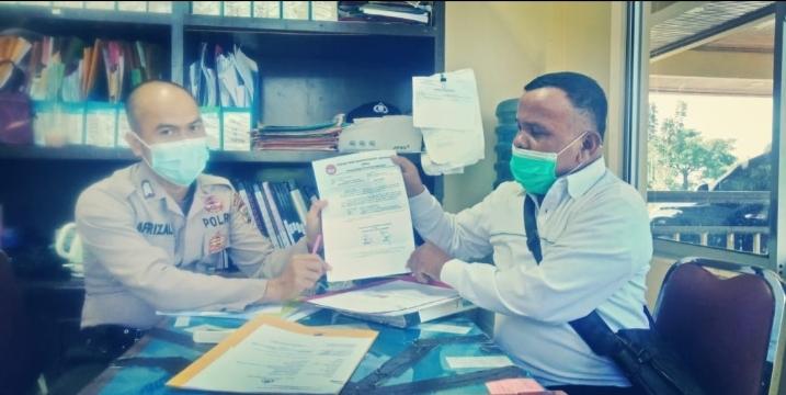 Polres Kuansing Terima Surat Silaturrahmi Dari FPII