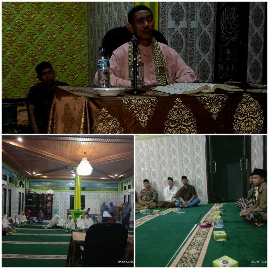 Surau Annizam Desa Pelukahan Gelar Isra Dan Mi'raj