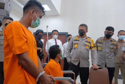 Gelar Operasi Antik, Polda Riau Sita 40 KG Sabu Dan 50.000 Butir Ekstasi Dari Operasi