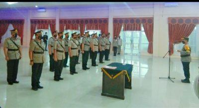 Kapolres Kuansing Pimpin Sertijab di Wilayah Jajaran Polres Kuansing